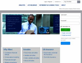 usallianz.com screenshot