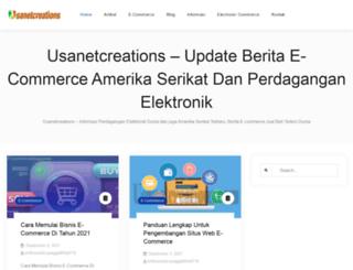 usanetcreations.com screenshot