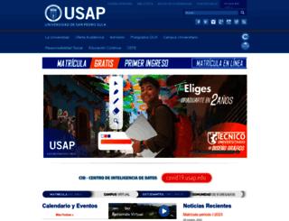 usap.edu screenshot