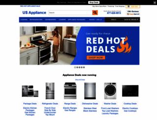 usappliance.com screenshot