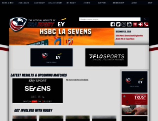 usarugby.org screenshot