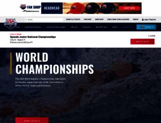 usaswimming.org screenshot