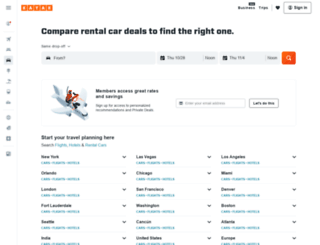 usatoday.kayak.com screenshot