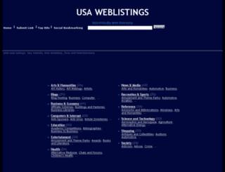 usaweblistings.com screenshot