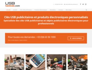 usb-centrale.com screenshot
