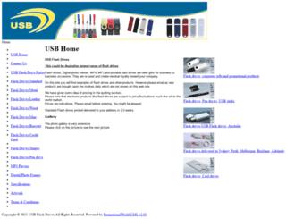 usb-flashdrives.com.au screenshot