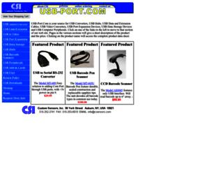 usb-port.com screenshot