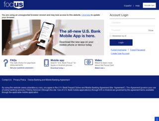 usbankfocus.com screenshot