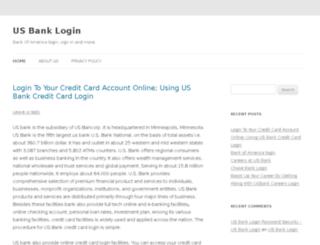 usbanklogin.net screenshot