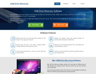 usbdriverecovery.com screenshot