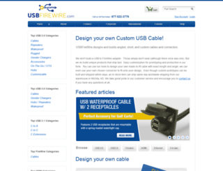 usbfirewire.com screenshot