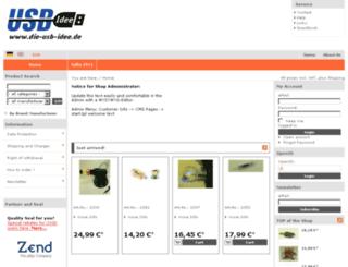 c2ddbe06e10 Access usbidee.de. OXID Gift Shop