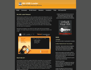 usbloader.com screenshot