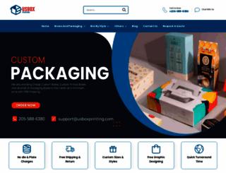 usboxprinting.com screenshot