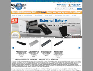 usbphoneworld.com screenshot