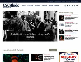 uscatholic.org screenshot