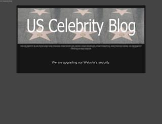 uscelebrityblog.com screenshot