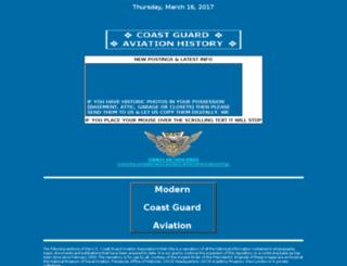 uscgaviationhistory.aoptero.org screenshot