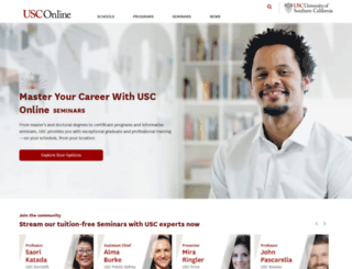 uscnow.usc.edu screenshot