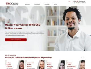 uscnow.usc.edu screenshot