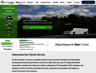 uscoachways.com screenshot