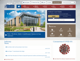 uscourts.gov screenshot