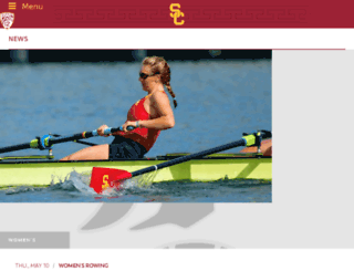 usctrojans.cstv.com screenshot