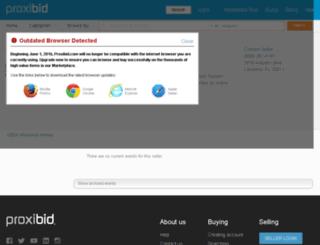 usdahomesauction.com screenshot
