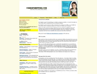 usdropshippers.com screenshot