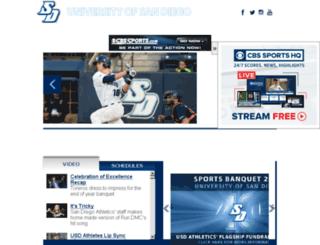 usdtoreros.cstv.com screenshot