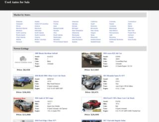 used-auto-4-sale.com screenshot