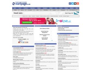 used-cars.page.co.uk screenshot