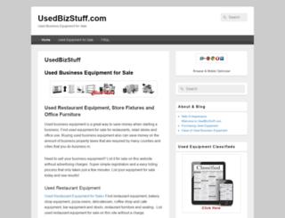 usedbizstuff.com screenshot