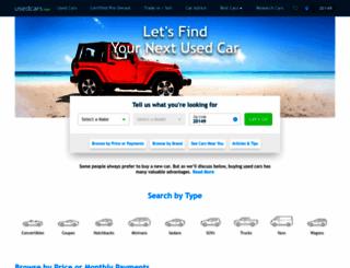 usedcars.com screenshot