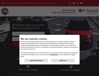 usedcars.fiat.co.uk screenshot
