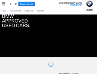 usedcars.jkcbmw.co.uk screenshot