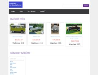 usedcarsfsbo.com screenshot
