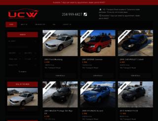usedcarswinnipeg.com screenshot
