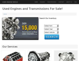 usedenginenexus.com screenshot