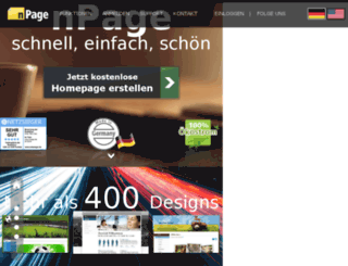 usedpresses.hpage.com screenshot
