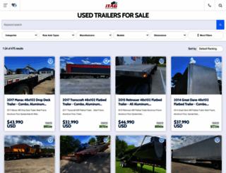 usedtractortrailersforsale.com screenshot