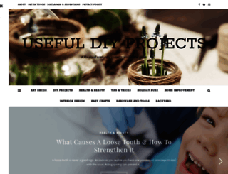usefuldiyprojects.com screenshot