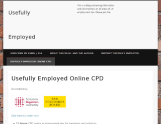 usefullyemployed.co.uk screenshot