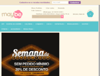 usemaybe.com.br screenshot