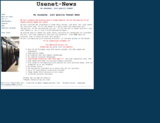 usenet-news.net screenshot