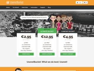 usenetbucket.com screenshot