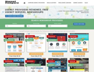 usenetcompare.com screenshot