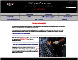 usengineproduction.com screenshot