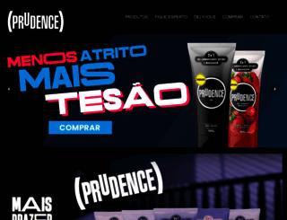 useprudence.com.br screenshot