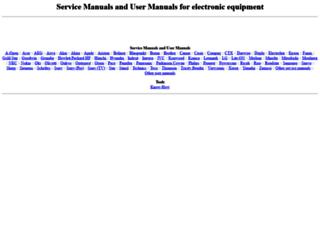 user-service-manuals.com screenshot